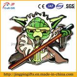 Emblema relativo à promoção do Pin do esmalte do metal dos desenhos animados da forma 2016