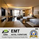 Modernes Fünf-Sternehotel-hölzerne Schlafzimmer-Möbel eingestellt (EMT-HTB04)