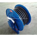 Tambor de tambor de cable accionado por resorte para cable de alimentación
