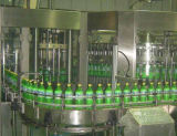 Automatisches Haustier-Flaschenreinigung-füllendes Mit einer Kappe bedecken und Etikettiermaschine