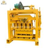 小型マニュアルの機械連結の煉瓦作成機械を作る連結のブロック機械Qt4-40 Comressedブロック
