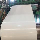 0.45mm galvanisierte die rückseitige weiße beschichtete Farbe der Farben-9002 Stahlring für PPGI