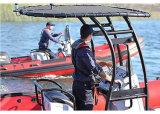 Aqualand 21pies 6,4m de rescate de la Costilla lancha patrullera/militar (RIB640T)