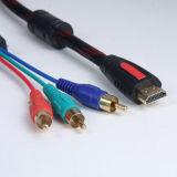 이더네트 알파철 (pH6-1209)를 가진 데이터 케이블 AV 커뮤니케이션 HDMI