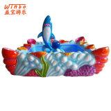 De grappige Vissende Pool van het Vermaak van het Stuk speelgoed van Kinderen voor BinnenSpeelplaats (f04-RD)