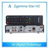 イタリアの熱い販売のZgemmaの星H2のサテライトレシーバのLinux OS E2 DVB-S2+T2/Cの対のチューナー