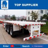 Het Voertuig van de titaan - Prijs van de Vrachtwagen van de Aanhangwagen van de Container van 40 Voet Flatbed