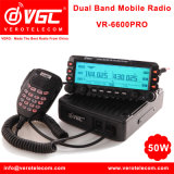 Walkie Talkie 50W de doble banda de UHF VHF FM Radio bidireccional móvil