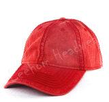 カスタム重い洗浄された明白な野球帽
