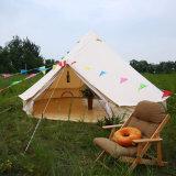 Travleing e tenda di campeggio della tela di canapa 5m Bell con Pali di legno