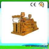 50Hz/60Hz 3 Fases 4, cable, cama de carbón de grupo electrógeno de gas de 500kw