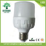 Venta caliente 10W 20W 30W 40W E27 B22 Bombilla LED de aluminio