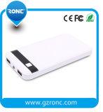 Capacidad de la batería 8000mAh real para el teléfono móvil del cargador del banco de potencia
