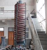 Preço da rampa espiral do minério do cromo do equipamento de mineração do ouro