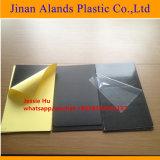 Blanco Negro 0,3M-2.0mm pulsando en frío de adhesivo pegado página interior de PVC para el Álbum de Fotos Hoja de PVC