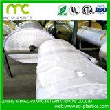 Papel revestido del PVC con el pegamento para la impresión/la etiqueta engomada/la bandera