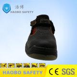 Горячие продажи летом кожа дышащий безопасность работы обувь
