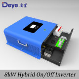 5kw incorporado de 8kw MPPT Controlador de carga híbrido Solar Inverter on/off