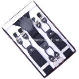 Suspenseurs de clip en cuir pour hommes (BD1007)