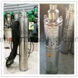 versenkbare Pumpe des Wasser-220-Volt für tiefe Vertiefung 1 Zoll