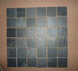 Черные плитки шифера для покрытия пола