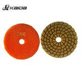 Les plaquettes de polissage humide/sec de plaquettes de polissage / Diamond Polishing Pads souple avec du sable