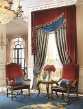 Гостиная шторки американской классической шторки окна