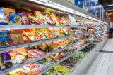 果物と野菜の表示のための空気カーテンが付いているスーパーマーケットによって冷やされている冷却装置