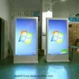42 '' 50 '' 55 '' 60 '' 65 '' de openluchtVertoning van de Reclame LCD