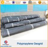 China Double-Direction geomalla de plástico/camino de entrada de geomalla/estabilización de suelos de plástico de geomalla