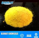 Cloruro de aluminio polivinílico de color amarillo claro para tratamiento de aguas residuales PAC29%