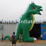 Balão inflável gigante do dragão ao ar livre para anunciar