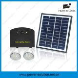 A economia de energia 2 bulbos dirige jogos do painel solar da iluminação