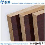 E0 de la colle du grain du bois de la Mélamine MDF face du papier