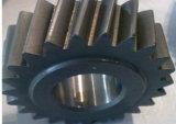 Высокая точность со спиральными шлицами сдвоенную шестерню с зубьями из закаленной стали
