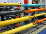 掘削機はPC100 PC128 PC230LCオイル管のDozerの部品が付いている油圧アームシリンダーバケツシリンダーブームシリンダーを分ける
