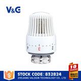 Válvula selectora de temperatura de manija de latón (VG-K13291)