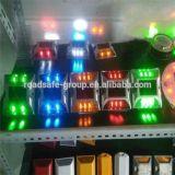 LED piscante Estrada de alumínio refletivo Solar Marcador pernos de Estrada