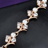 Braccialetto Handmade occidentale all'ingrosso dei monili della perla e del cristallo