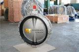 De Van een flens voorzien Vleugelklep van het roestvrij staal Dubbel (CBF01-TF01)