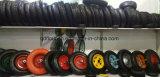 외바퀴 손수레 팽창식 트롤리 바퀴는 압축 공기를 넣은 고무 바퀴를 찌른다