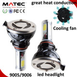Farol H1 H3 H7 H11 H4 880 do carro do diodo emissor de luz 881 9006 farol do diodo emissor de luz de 9005 ESPIGAS, bulbo H7 do farol do diodo emissor de luz do poder superior