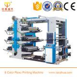 Impresora plástica de Flexo de 2 colores pequeña