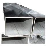 Rectangulaire en acier inoxydable poli tuyaux sans soudure