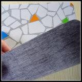 Protezione del feltro di colore rosso con la moquette non tessuta della pavimentazione della protezione