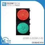 300mm indicatore luminoso rotondo verde rosso del segnale stradale di 12 pollici