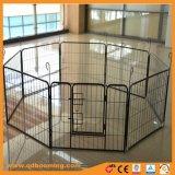 Canil resistente do funcionamento do cão das gaiolas do fio de metal