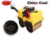 Camminata della benzina di Zm-50 540kg dietro il rullo compressore vibratorio del doppio timpano