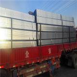 La norma ISO surtida la tubería de acero, materiales de construcción tubo cuadrado de acero negro
