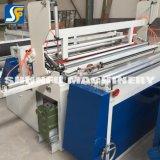 Chaîne de production à grande vitesse de rebobinage de papier de toilette roulis de papier faisant des prix de machine